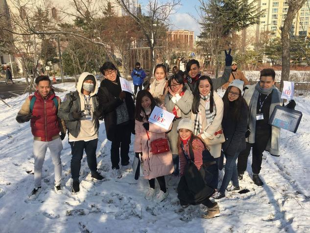Hành trình học tập tại Hàn Quốc của sinh viên UEF trong ngày đầu tiên